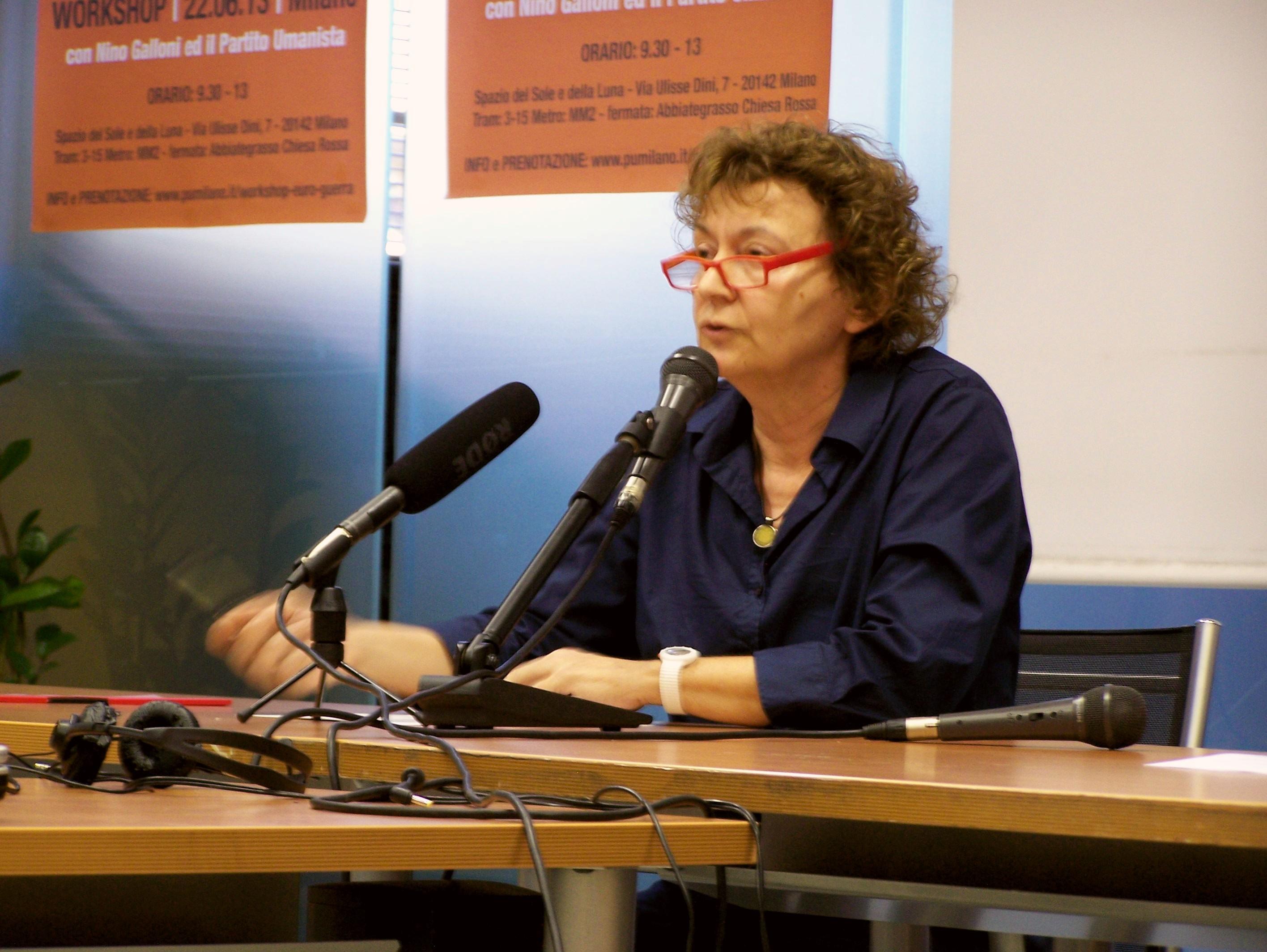 Il fallimento del sistema di valori dentro e fuori di noi :Giovanna Ubaldeschi